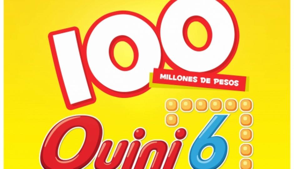 El Quini 6 se viene con un pozo de $100millones este domingo.
