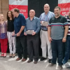 Los 6 ex presidente que están con vida fueron homenajeados en la celebración del centenario del Club Adelante Reconquista.