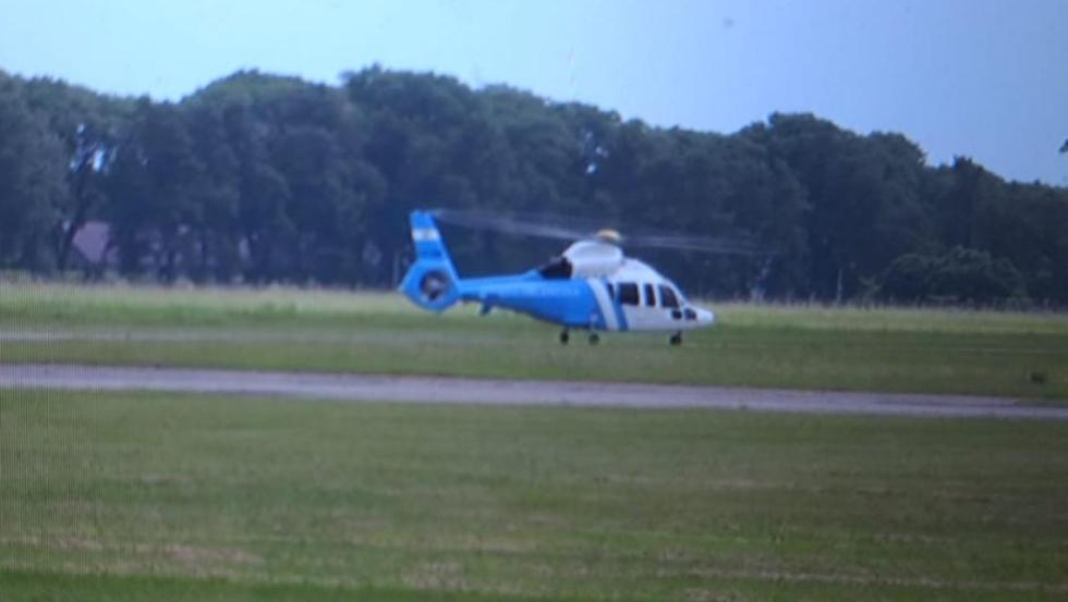 31012019 macri en Reconquista helicoptero.jfif