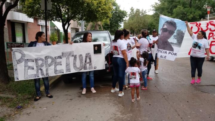 Moyano Ortigoza Kevin Martínez homicidio