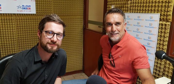 Gabriel Batistuta y Pablo Benedetti en RH 27 feb 2019.jfif