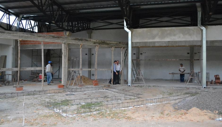 Comenzó la construcción de dársenas en la Estación de Colectivos de la ciudad de Malabrigo.