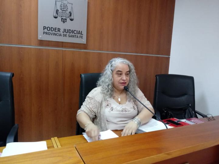 juicio a Antonio Ramón Romero jueza claudia Bressan
