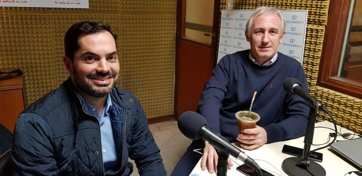 Coco Báscolo y Cristian Cunha en ReconquistaHOY.jpg