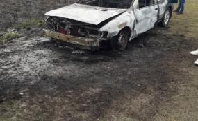 Se incendió el auto de un reconquistense sobre la Ruta 1.