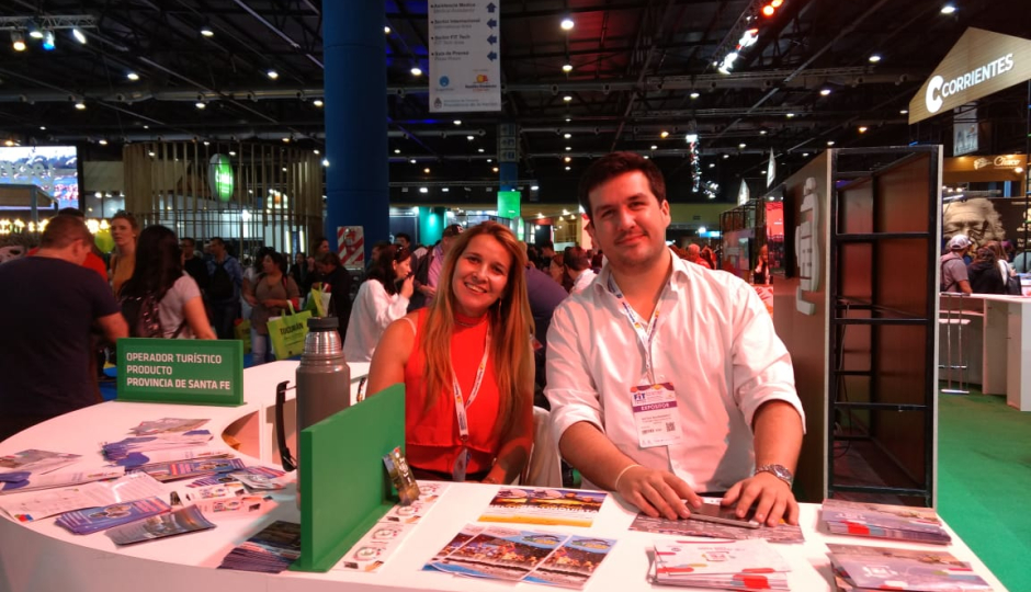 Reconquista participó de la Feria Internacional de Turismo.