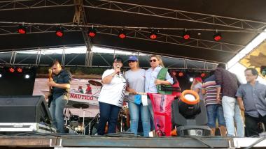 Llegada de los pescadores Concurso Surubí 2019