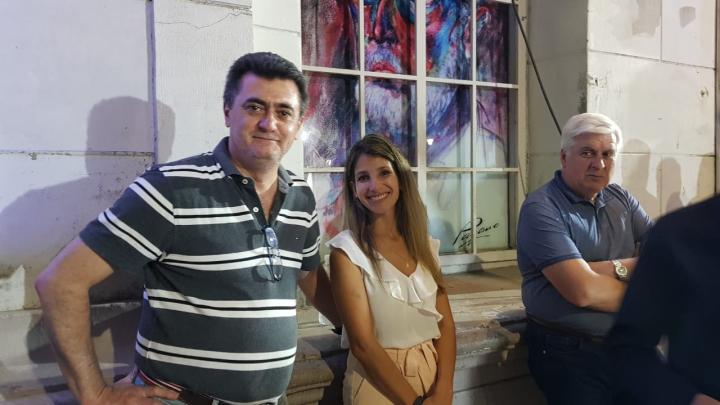09122019 Federico Pezz en una pausa de la furiosa noche del Concejo Municipal de Reconquista..jpeg