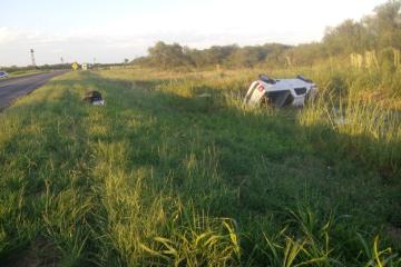 15122019 volcó camioneta del paraguayo Insfran Vázquez en Vera x Ruta 11.jpeg