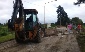 Finalizaron los trabajos en Camino Héroes de Malvinas y liberaron el tránsito. Lo confirmó el Subsecretario de Obras Públicas del Gobierno de Reconquista.