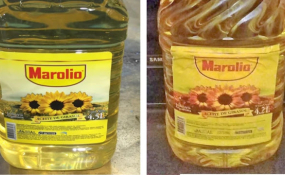 ANMAT alertó que detectaron aceite de origen dudoso bajo falsa etiqueta de una primera marca.