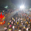 Los ensayos generales de las comparsas calentaron el carnaval. Anoche una multitud acompañó a Piray.