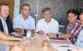 Legisladores de la UCR recibieron a los Intendentes de Rosario, Santa Fe y del Foro Radical de la Provincia.