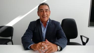 Director del hospital de Reconquista, Kinesiologo Rúben Correa..jpg