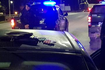 02082018 retencion de vehículo y chofer preso Bulevar Yrigoyen c.jpg