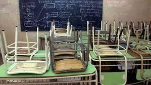 escuelas cerradas sin clases aula