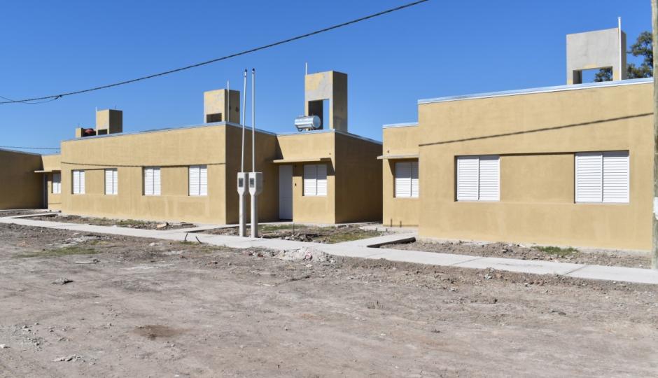 Hoy se sortean 19 viviendas en Villa Ocampo.