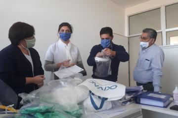Colegio de enfermeros mascaras de protección.jpeg