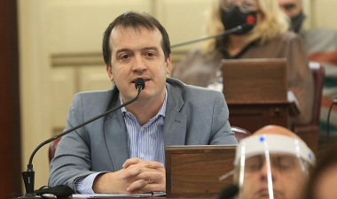 El diputado Joaquín Blanco.