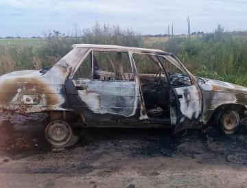 Carlos Ermindo Usprung Ana Gabriela Benitez automóvil quemado incendiado