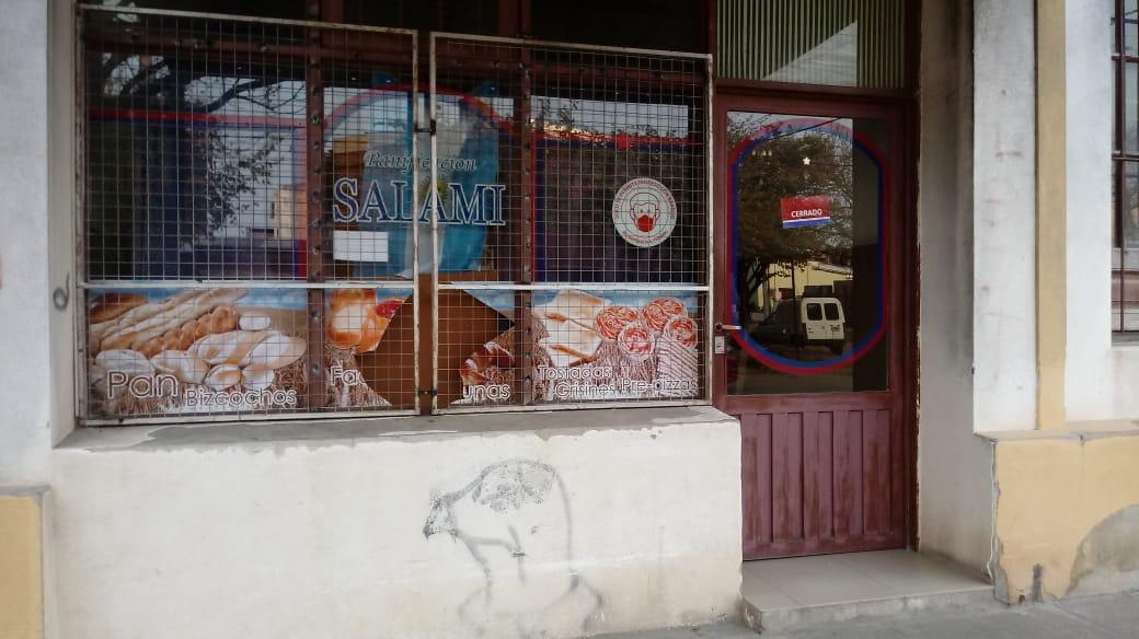 Robo en la Panadería Salami.