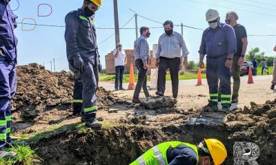 El gobierno de Reconquista y Aguas Santafesinas siguen trabajando en obras de infraestructura estratégicas en materia de expansión y vinculación a la red de agua potable.