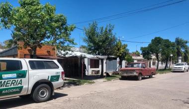 Allanamiento Gendarmería en casa de Mendoza en Calchaquí 26 feb 2021.jpg copy