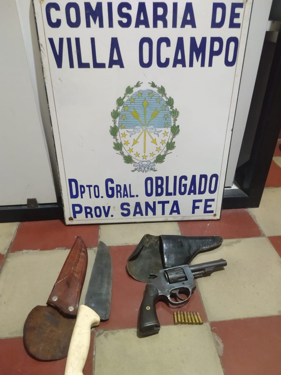 Tentativa de Homicidio en Villa Ocampo 2 junio 2021. Detenidos Jorge Barbona y Alcides Barbona