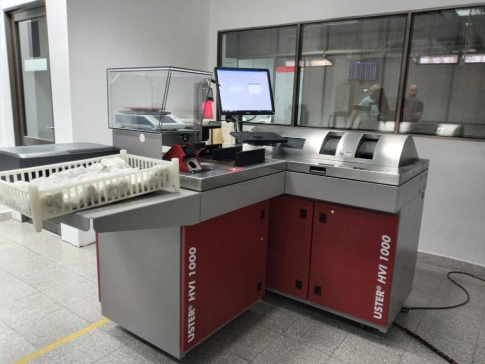 El Laboratorio oficial de Análisis de fibra por High Volume Instrument (HVI)