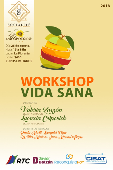 Workshop Vida Sana