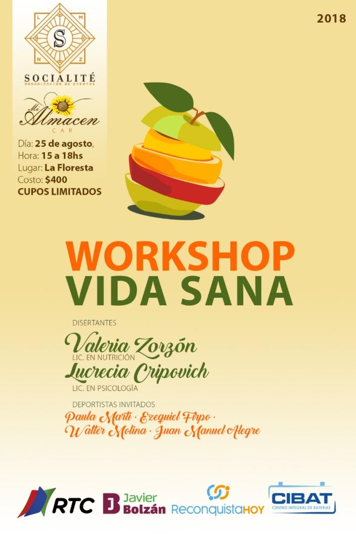 Workshop Vida Sana