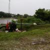 Numerosas viviendas bajo agua también en Reconquista por las lluvias que no cesan.
