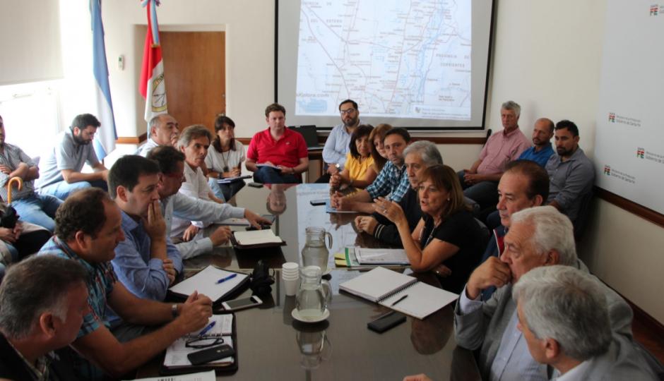 La comisión provincial de emergencia agropecuaria acordó solicitar la declaración de emergencia en el Norte de la provincia.  Qué dijo Marcón al respecto.