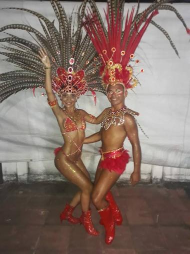 corsos 2019 Gisela Benitez y Luciano Ocampo son el fuego estrellas del carnaval.jpg