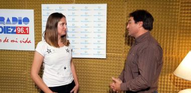 Maria Laura Corgnali con Gus Raffin en RH.jpg