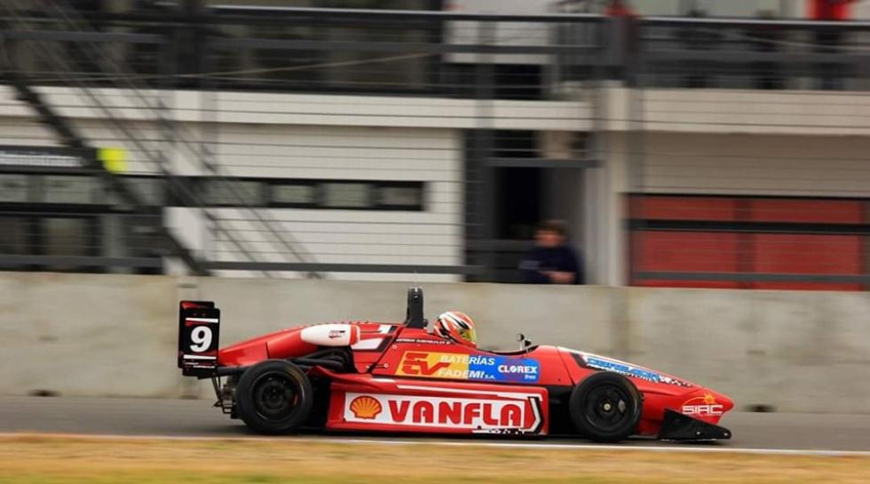 Fórmula 3 de Esteban Zuberbuhler