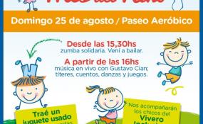 Hoy Avellaneda agasajará a los niños y están todos invitados!.