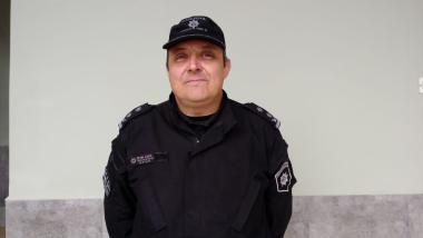 Director de Policía José Eduardo Seen.