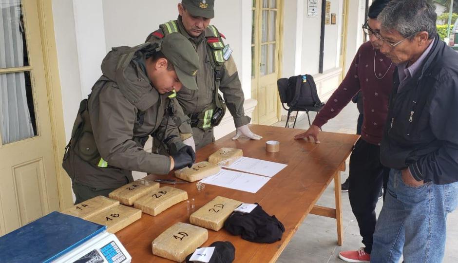 Secuestraron marihuana desde un colectivo que había salido desde Posadas.