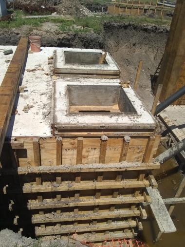 Accidente laboral en la obra del acueducto, tramo de El Arazá.