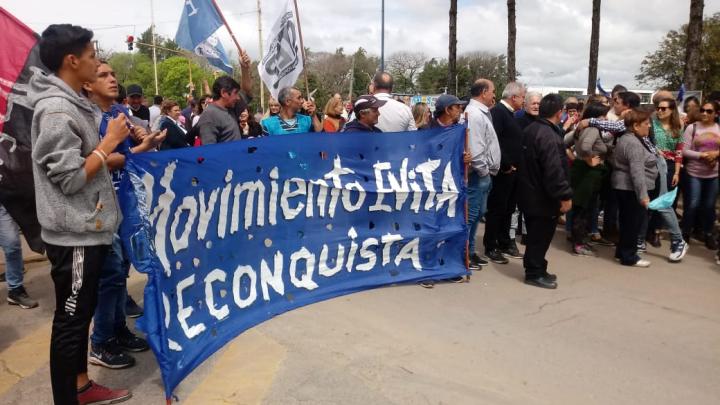 """Acto central """"Día de la Lealtad Peronista""""."""