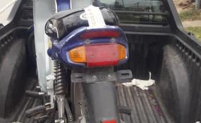 Menor de edad y sin documentación circulaba en moto la que le fue retenida.