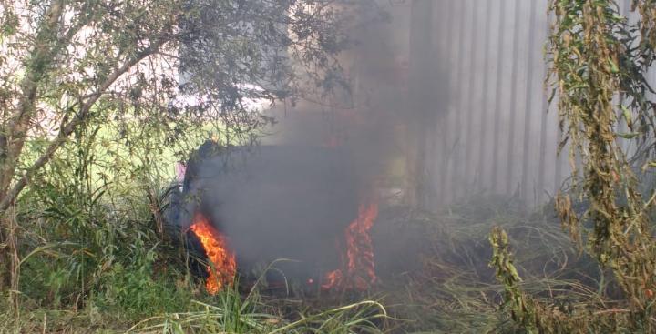 incendio Ollarce Corralón El Parque Schlatter