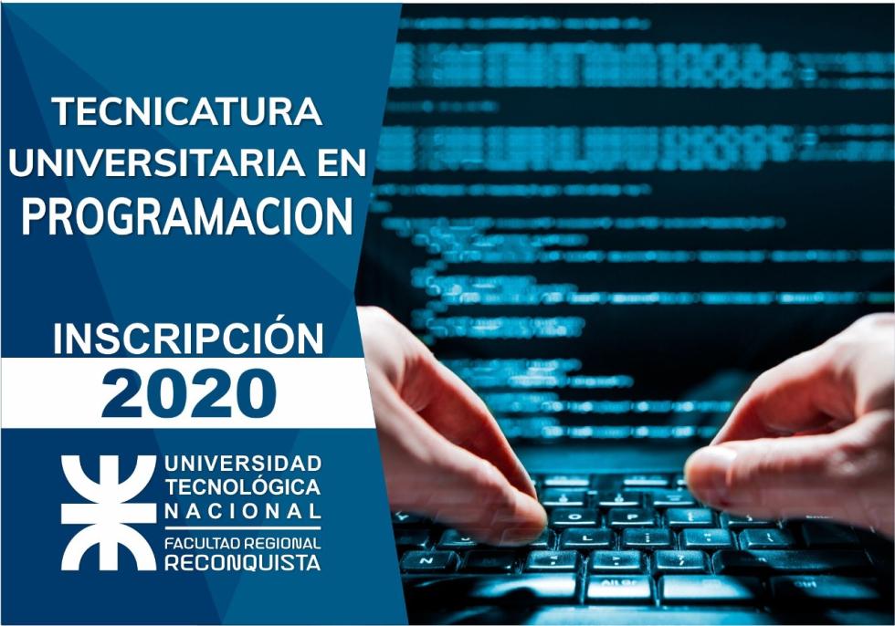 INSCRIPCIONES ABIERTAS PARA TECNICATURAS DE LA UTN – FACULTADREGIONAL RECONQUISTA (1).jpeg
