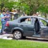La droga quedó en el camino, con un auto secuestrado y tres detenidos, entre ellos refieren a un gendarme sumariado.