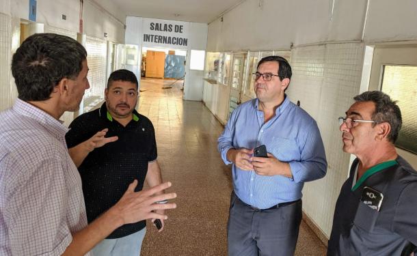Enri Vallejos explica aquí cómo funcionará el centro de oncología dentro del nuevo hospital.