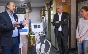 Perotti anunció que Santa Fe creció un 25 por ciento en camas críticas resultado del tiempo ganado por el aislamiento y el trabajo coordinado entre Provincia y Nación.