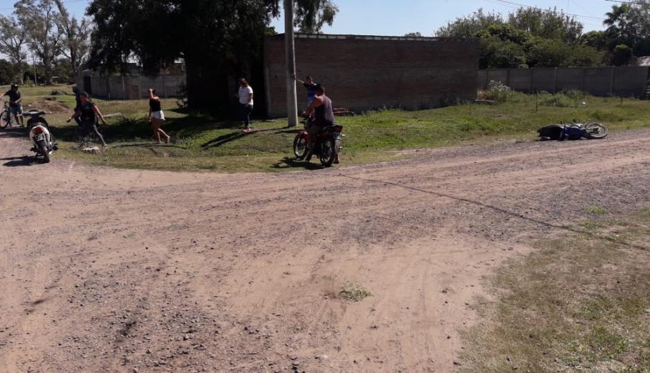 Choque de motos en Tacuarendí. Uno de los protagonistas es de Las Toscas y le formaron causa por violar el aislamiento.