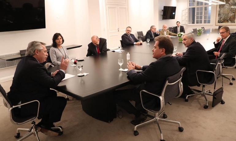 Alberto Fernández Sergio Nardelli reunión por intervención a Vicentín 11 junio 2020 en Olivos.jpeg