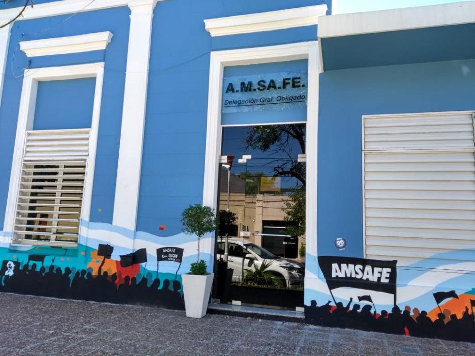 Sede de AMSAFE General Obligado.